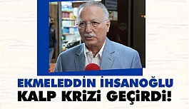 Ekmeleddin İhsanoğlu Azerbaycan'da kalp krizi Geçirdi