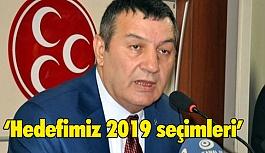 MHP İzmir İl Başkanı Karataş, Hedefimiz 2019 seçimleri