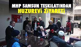 MHP Samsun Teşkilatından Huzurevi Ziyareti