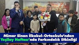 Mimar Sinan İlkokul-Ortaokulundan Yeşilay Haftasında Farkındalık Etkinliği