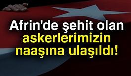 Şehit Oğuz Kaan Usta, Mehmet Muratdağı'n Naaşlarına Ulaşıldı