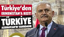 Türkiye, Ermenistan'a Rest Çekti! Türkiye Azerbaycan'ın Yanındadır