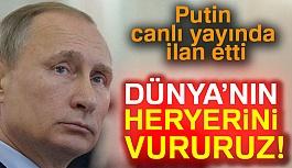 Vladimir Putin Tehdit Etti!