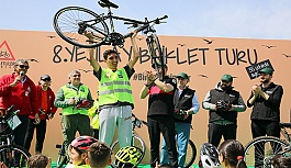 2 Bin Bisikletsever Bağımlılıkla Mücadele İçin Pedal Çevirdi