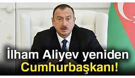 Aliyev yeniden Cumhurbaşkanı