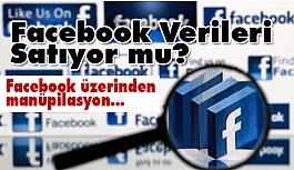 Facebook üzerinden manüpilasyon (Facebook Verileri Satıyor mu?)