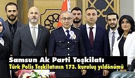 Hakan Karaduman; Türk Polis Teşkilatının 173. Kuruluş Yıldönümü Kutladı