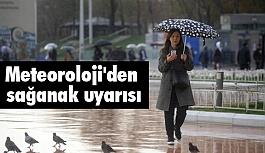 Meteoroloji'den Sağanak Uyarısı!  (7 Nisan 2018)