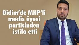 MHP'li meclis üyesi partisinden istifa etti