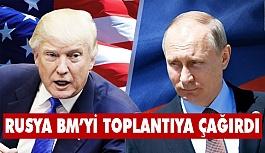 Rusya, BM'yi Suriye için toplantıya çağırdı