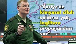 """""""Suriye'de kimyasal silah saldırısı yok, İngiltere propagandası var"""""""