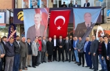 Ülkü Ocakları 19 Mayıs İlçe Başkanlığı, yapılan törenle hizmete açıldı