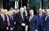 Erdoğan, Büyük Birlik Partisi'ni Ziyaret Etti