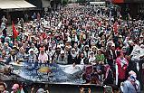 Kazablanka'da Filistin'e destek!