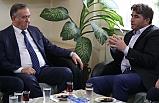 MHP Grup Başkanvekili Akçay'dan Kula Belediyesi'ne Ziyaret