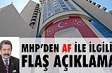 """MHP'li Feti Yıldız'dan """"AF KANUNU"""" Açıklaması"""