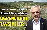 Başkan Ahmet Seven Öğrencilere Yaz Tatili Tavsiyesinde Bulundu