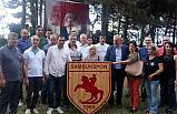 İYİ Partililer Samsunsporu Ziyaret Etti