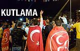 MHP'de seçim coşkusu; MHP'de Kutlama