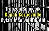 Trabzon Bahçecik Kapalı Cezaevinde Oyları İnce ve HDP Aldı