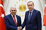 Cumhurbaşkanı Erdoğan Başkan Seçilen Yıldırım'a tebrik