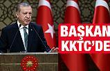 Cumhurbaşkanı Erdoğan, KKTC'de Törenle Karşılandı