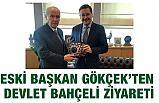 Eski Başkan Gökçek, MHP Lideri Bahçeli'yi Makamında Ziyaret Etti