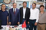 MHP'li Erkan Akçay'dan Teşekkür Ziyareti