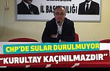 Nuri Cömert, CHP'de Kurultay istedi: Böyle Giderse Nal Toplarız
