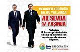 Başkan Erdoğan Tok; Milletin Umudu Ak Sevda 17 Yaşında