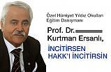 Prof. Dr. Kurtman Ersanlı; Gelecek İçin...