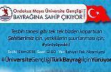 """""""19 Mayıs Üniversite Gençliği, Bayrağına Sahip Çıkıyor"""""""
