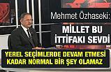 Ak Parti'den Yerel Seçim İttifakına MHP'ye Yeşil Işık