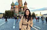 Çiğdem Karaaslan, Rusya'nın Başkenti Moskova'da