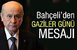 """Devlet Bahçeli'den """"19 Eylül Gaziler Günü"""" Mesajı"""