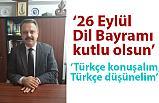 Serkan Şen; Türkçe Soylu Bir Dildir