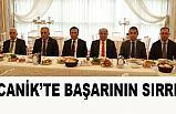 CANİK'TE BAŞARININ SIRRI