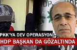 Dev PKK/KCK operasyonu: HDP'li Başkan Gözaltında