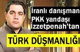 İranlı danışman PKK yandaşı İzzetpenah'tan Türk Düşmanlığı