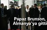 Papaz Brunson, özel uçakla Almanya'ya gitti