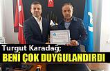 "Turgut Karadağ'dan Kemal Şahin'e ""Hayırlı Olsun"" Ziyareti"
