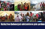 Türk Kızılay'dan Endonezyalı afetzedelere gıda yardımı