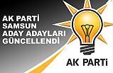Ak Parti Samsun İl ve İlçe Belediye Başkan Aday Adayları Güncellendi