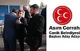 Asım Cerrah, MHP Canik Belediyesi Başkan A. Adayı Oldu