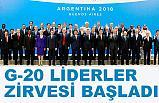 G-20 Liderler Zirvesi Costa Salguero Fuar Merkezi'nde başladı