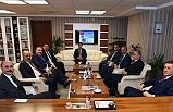 Bakan Ziya Selçuk'tan Türk Eğitim - Sen'e Ziyaret