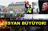 Fransa'da İsyan Büyüyor!