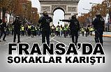 Fransa'da Sarı Yeleklilerin Eylemleri Büyüyor