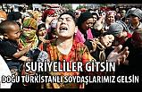 İYİ Partili Ahmet Ünal; Suriyeliler gitsin, Doğu Türkistanlılar gelsin!