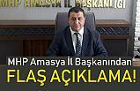 MHP Amasya İl Başkanı Erhan Demir'den Flaş İttifak Açıklaması